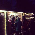 Night Time queue - Joey's Café